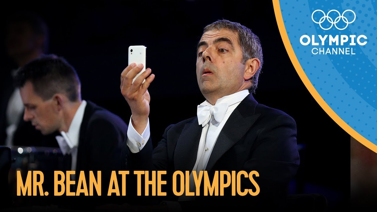 mrbean at the olympics