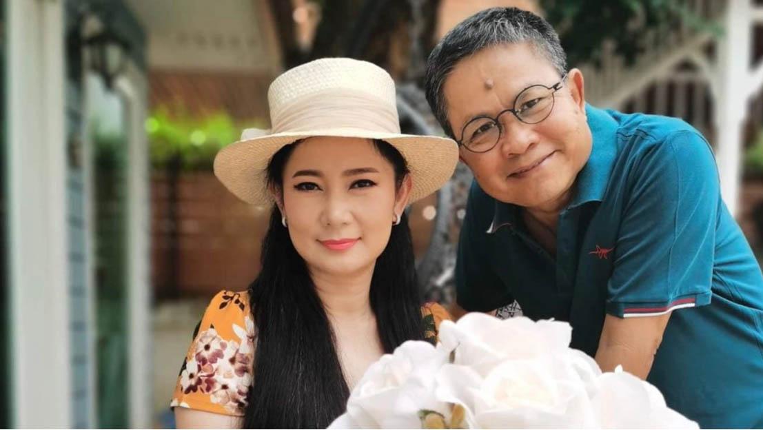 ปู กนกวรรณ แต่งงาน เด๋อ ดอกสะเดา 23 ปี ขอเป็นทาสสามีตลอดไป